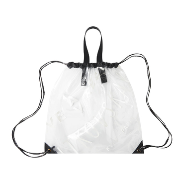 Vinyl backpack shopper